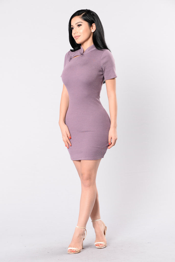 Beauty Contest Dress - Plum