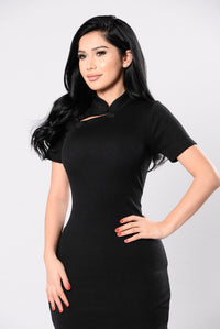 Beauty Contest Dress - Black