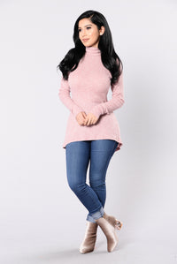Trend Getter Sweater - Mauve