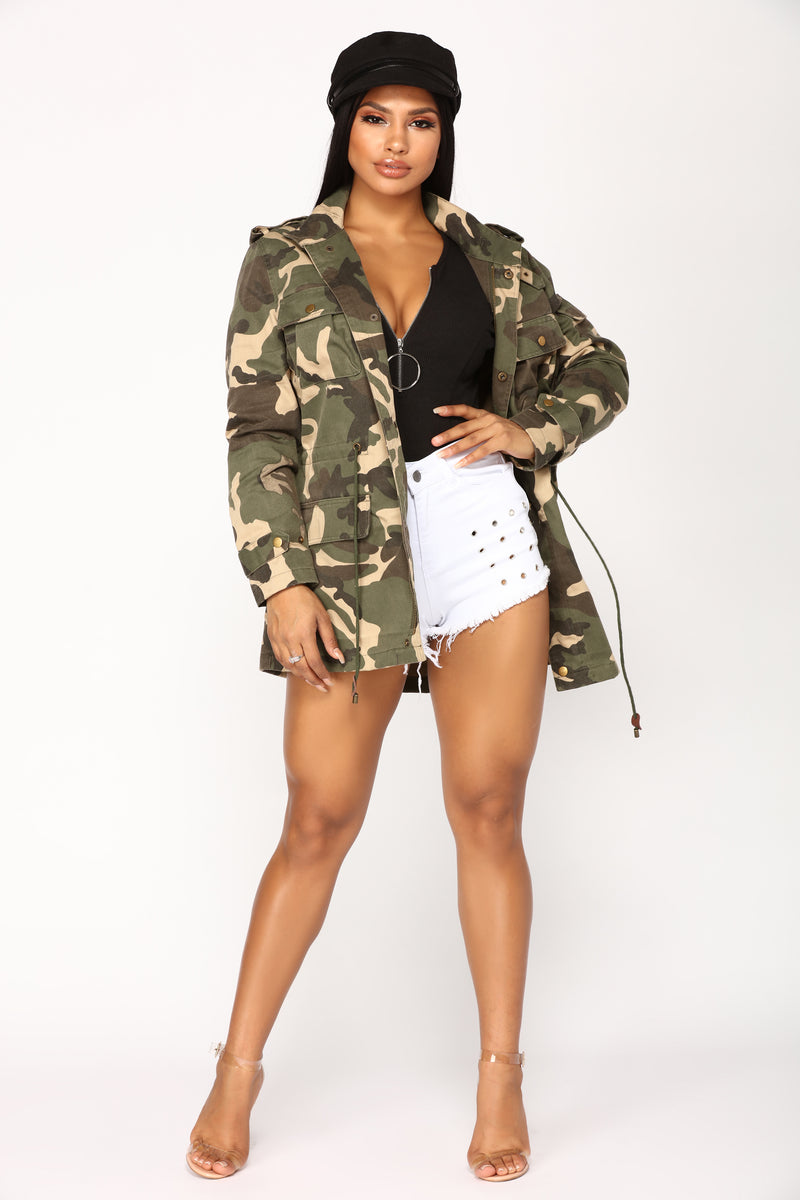 Florianne Jacket - Camouflage