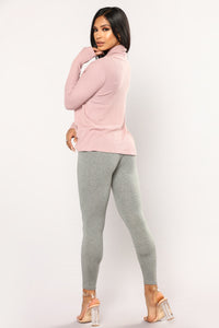 Almost Daily Layering Leggings - Charcoal