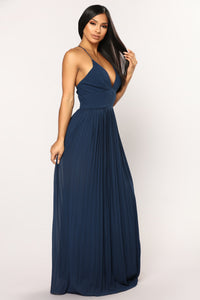 Lure Maxi Dress - Navy