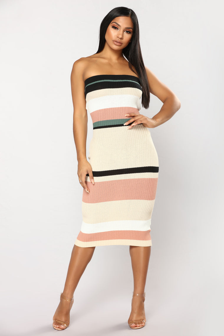 Shoppe Stripe Dress - Multi