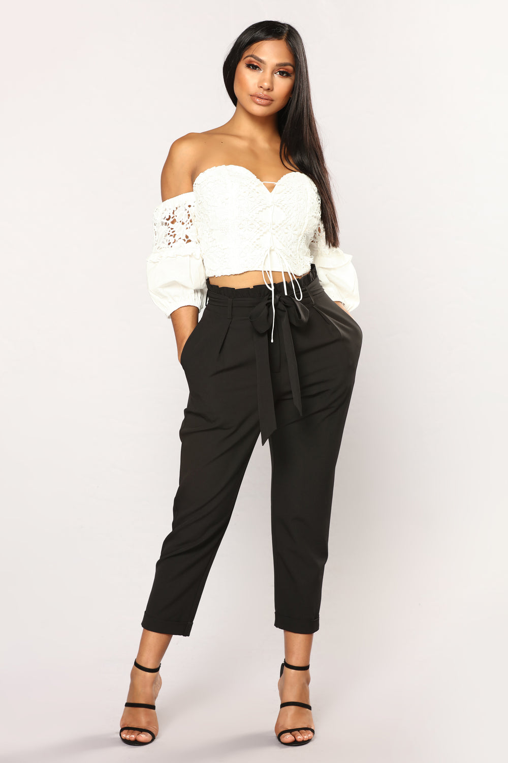 Knot Your Woman Pants - Black