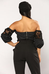 Rosalina Top - Black