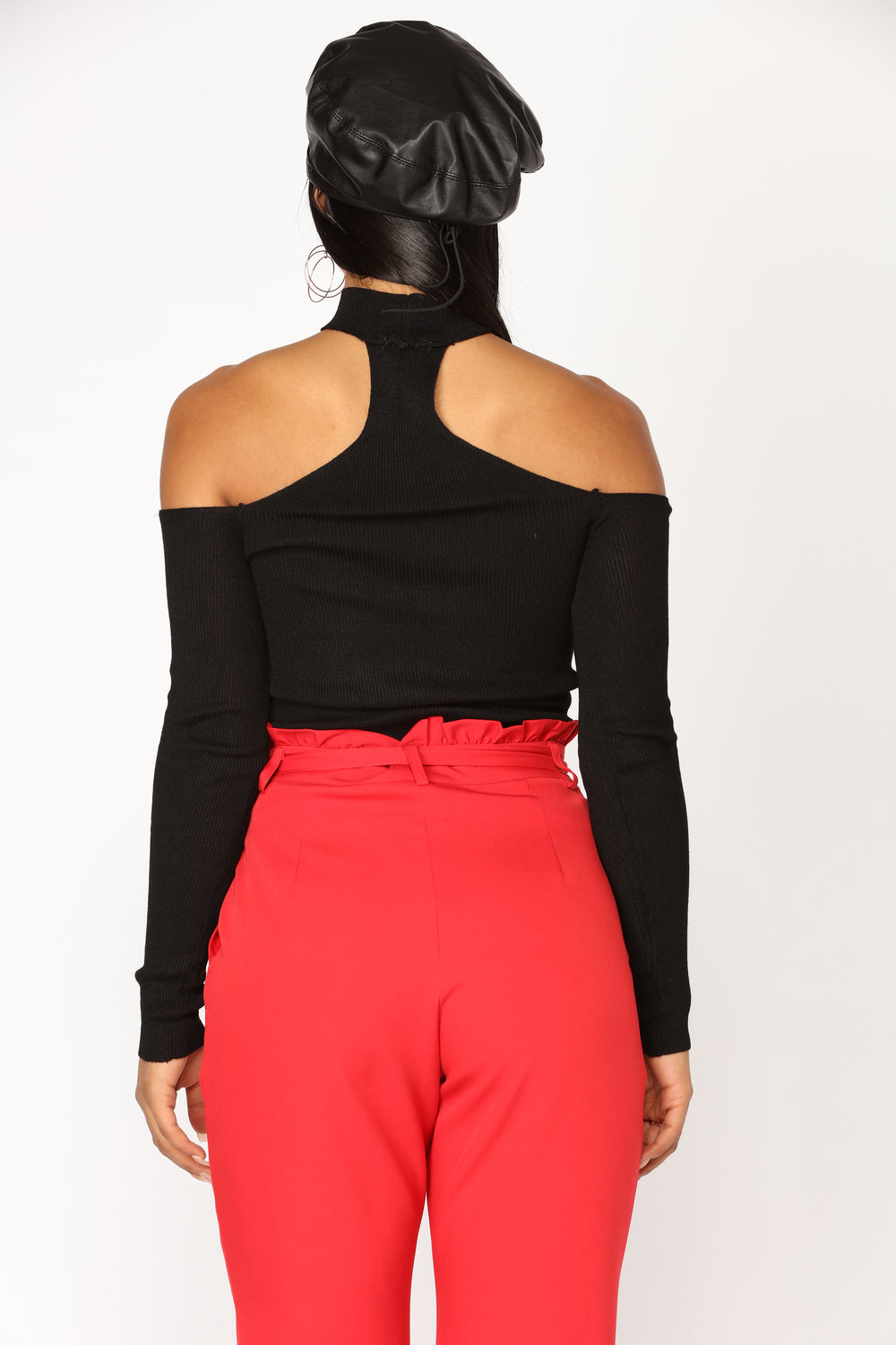 Ready For Whatever Off The Shoulder Top - Black