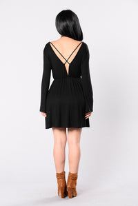 Rather Die Young Dress - Black