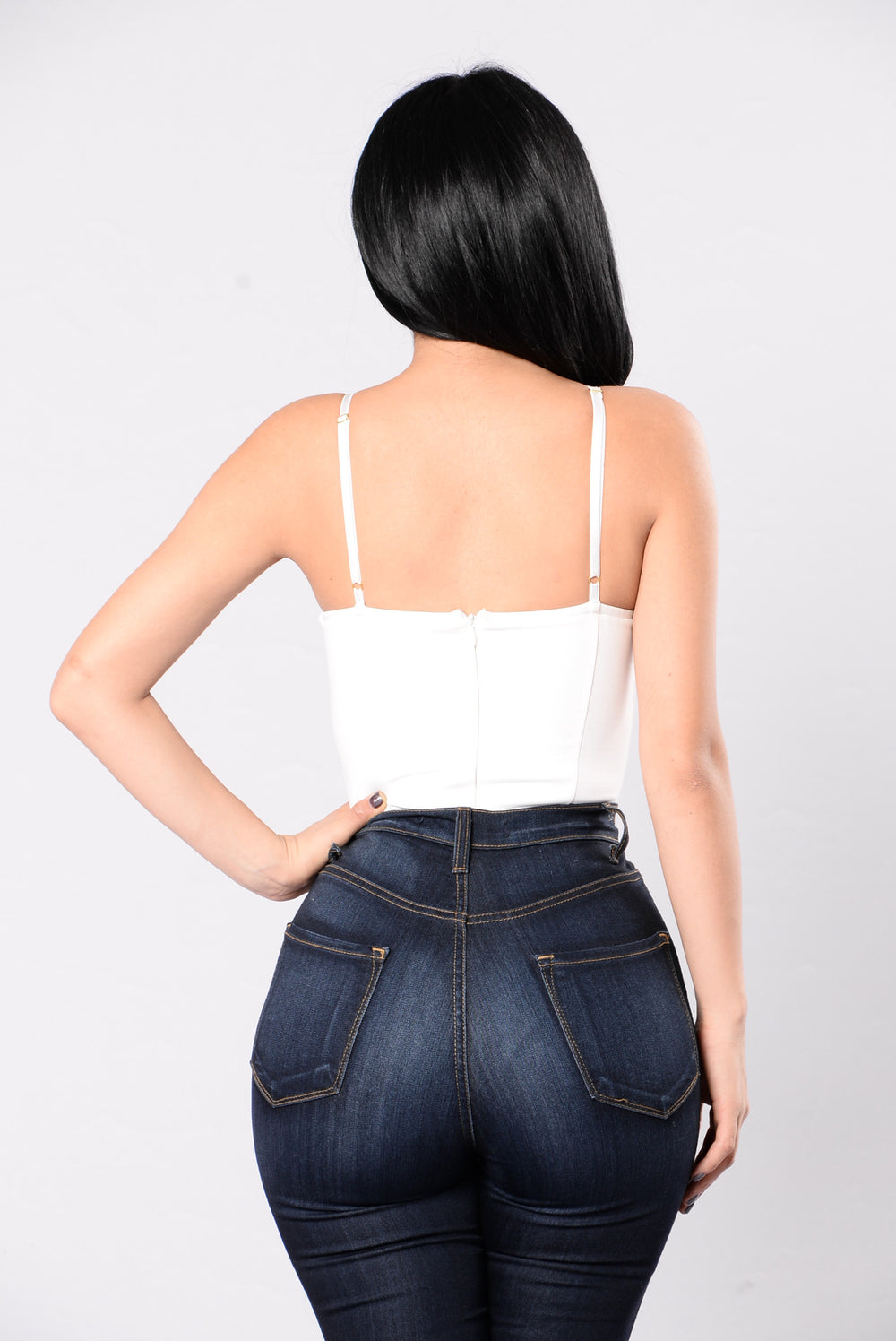More Than Friends Bodysuit - Ivory
