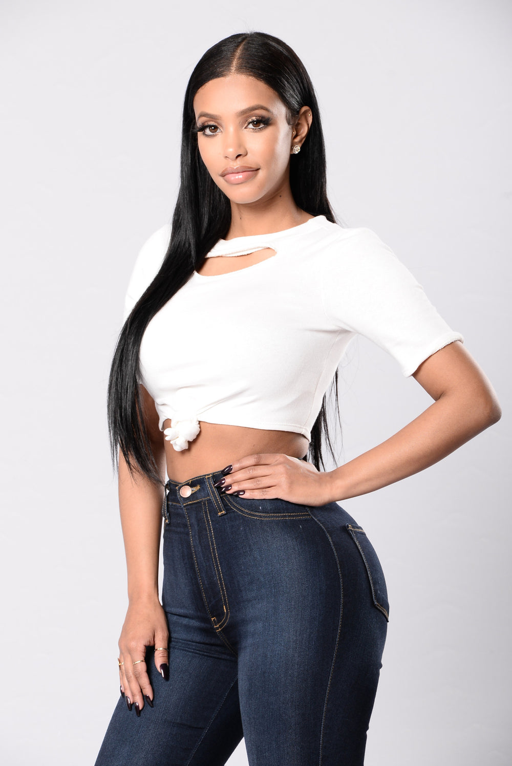 Knotty Girl Top - Ivory