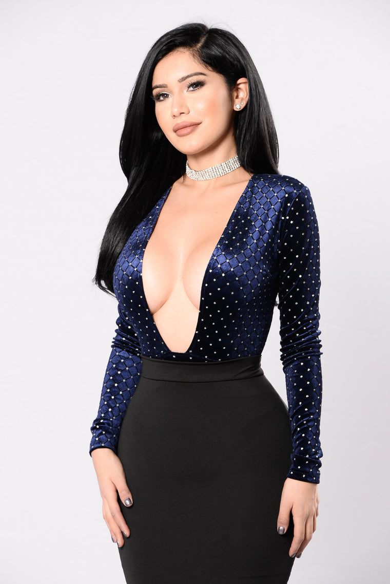 Just A Dream Bodysuit - Navy