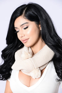 3rd Time's The Charm Infinity Scarf - Ivory