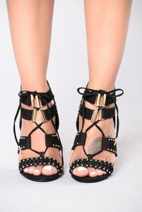 With Precision Heel - Black