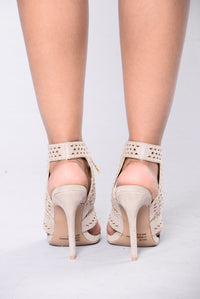 With Precision Heel - Taupe