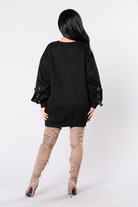 Ex Files Sweatshirt - Black
