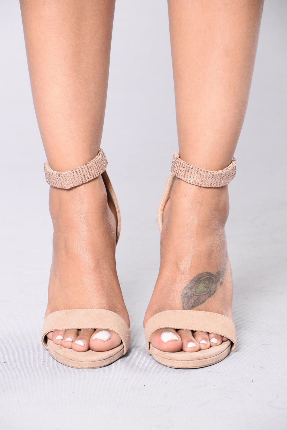 Everything I'd Ever Want Heels - Taupe