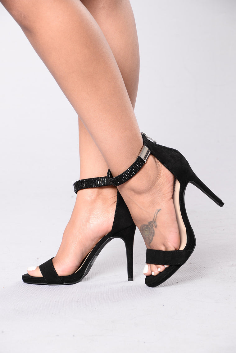Everything I'd Ever Want Heels - Black
