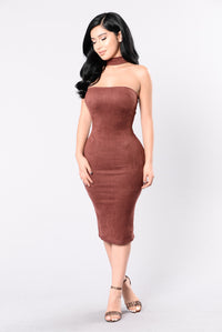 Case Closed Dress - Redbean