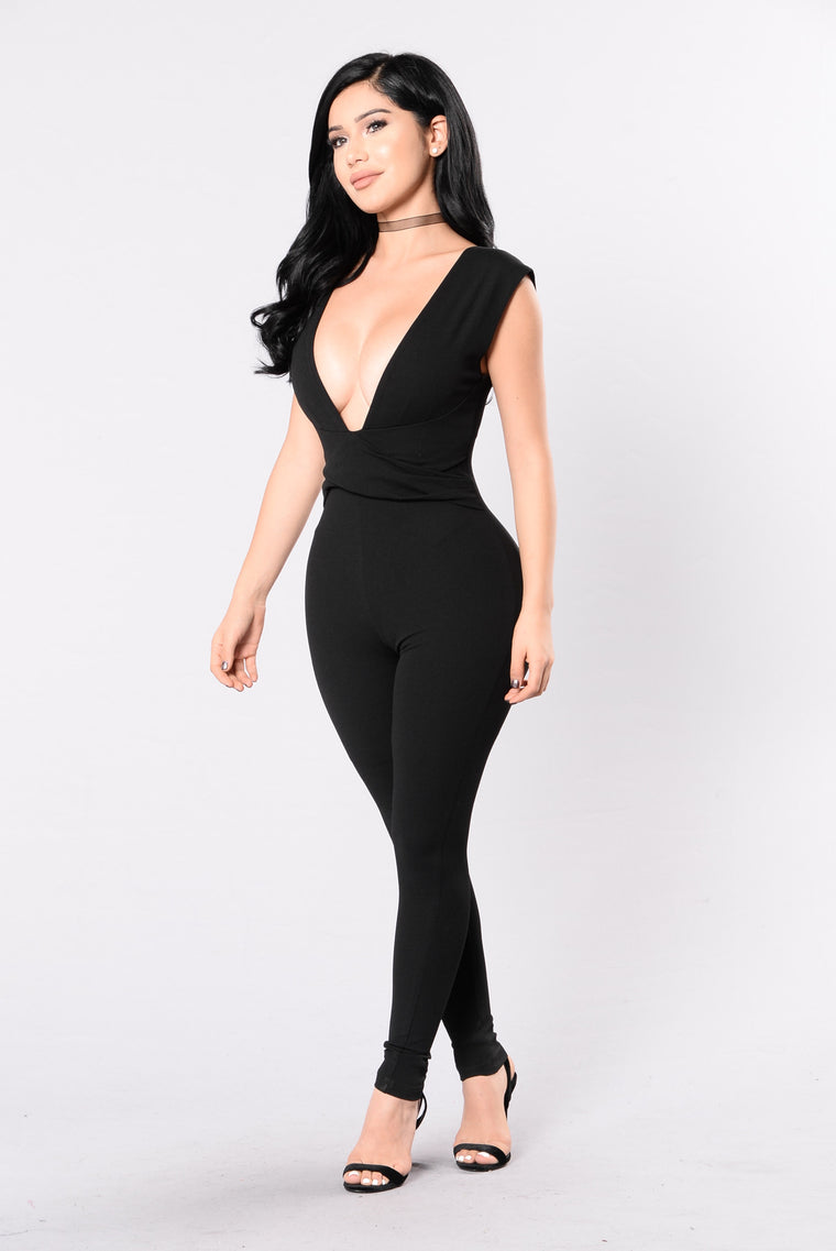 Socialize Jumpsuit - Black
