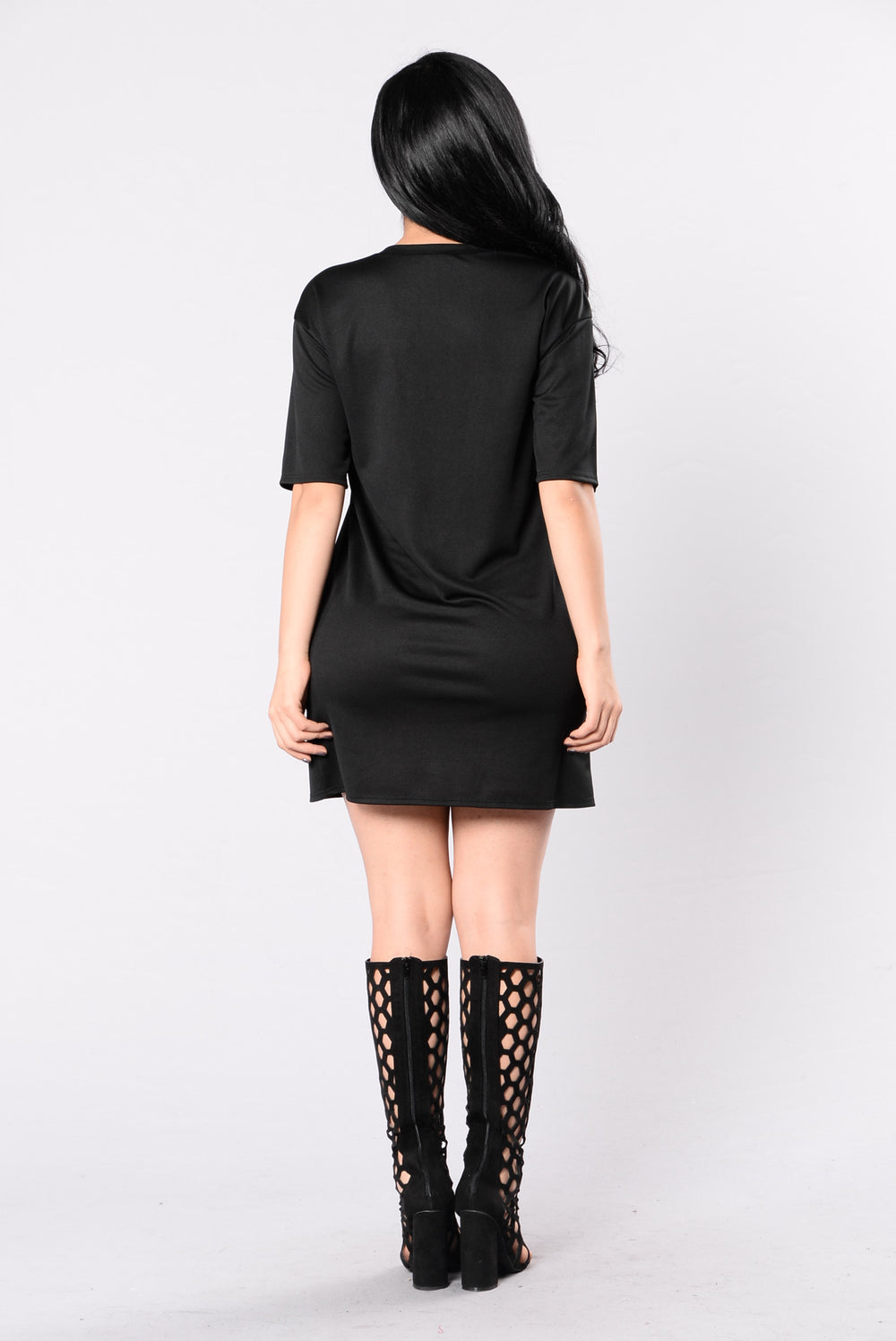 Slay All Day Tunic - Black