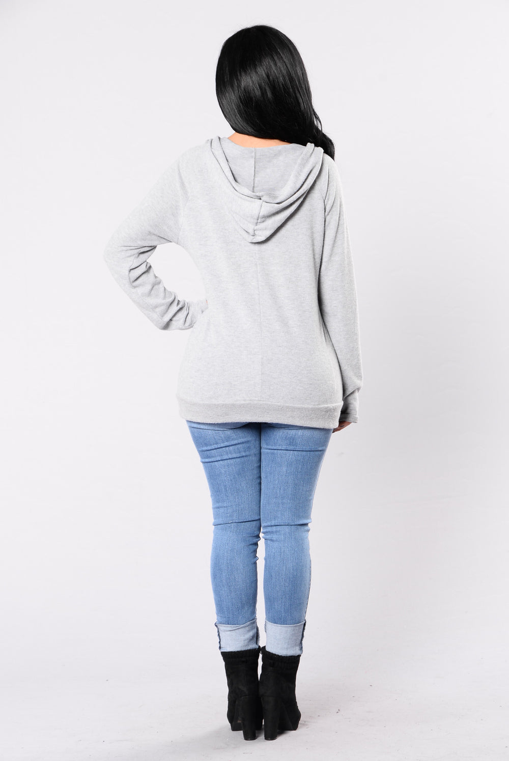 Filthy Animal Sweater - Heather Grey