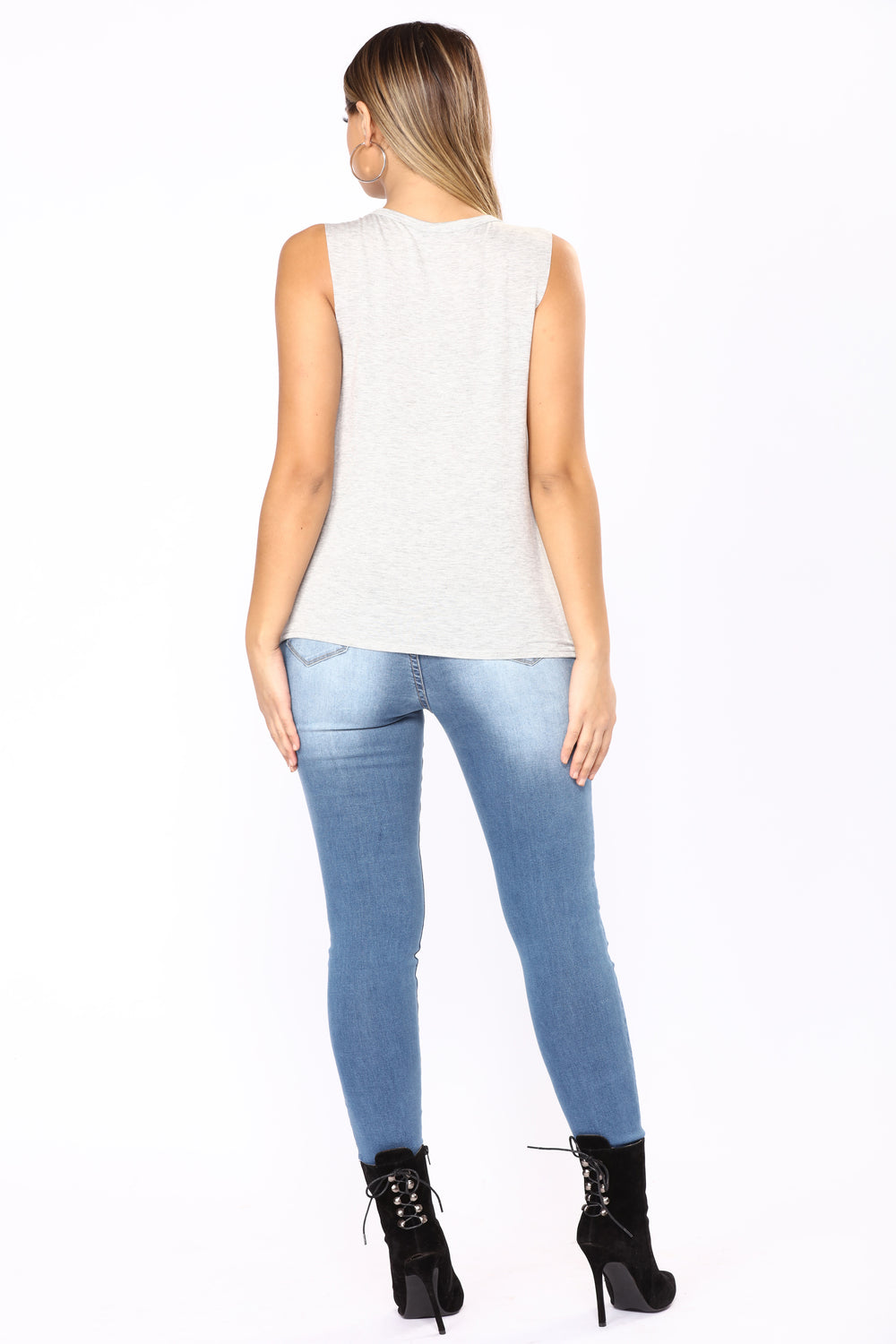 Secret Society Skinny Jeans - Medium Blue Wash