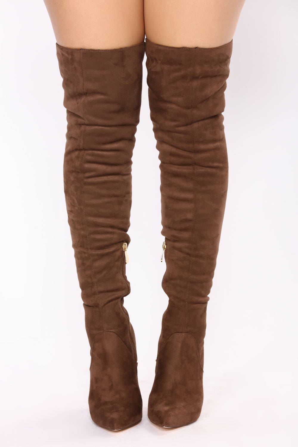 Dominique Chic Boot - Taupe