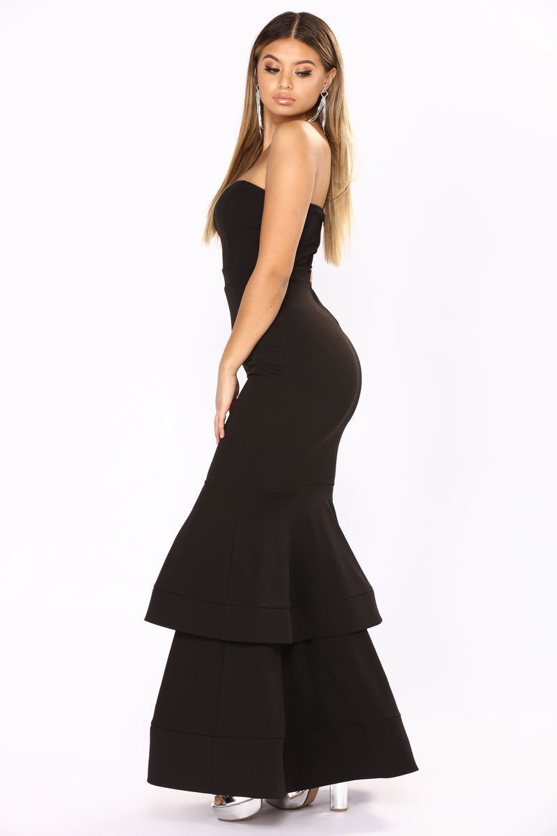 Can't Leave Me Alone Dress - Black