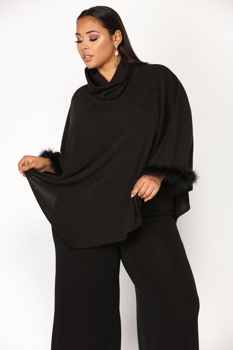 Set The Trend Sweater - Black