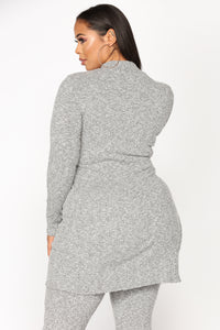 No Boo Nights Set - Heather Grey