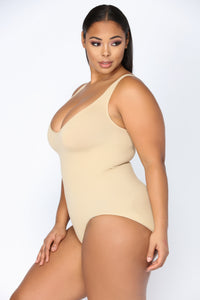 Romantic Evening Shapewear Teddy - Nude Angle 5