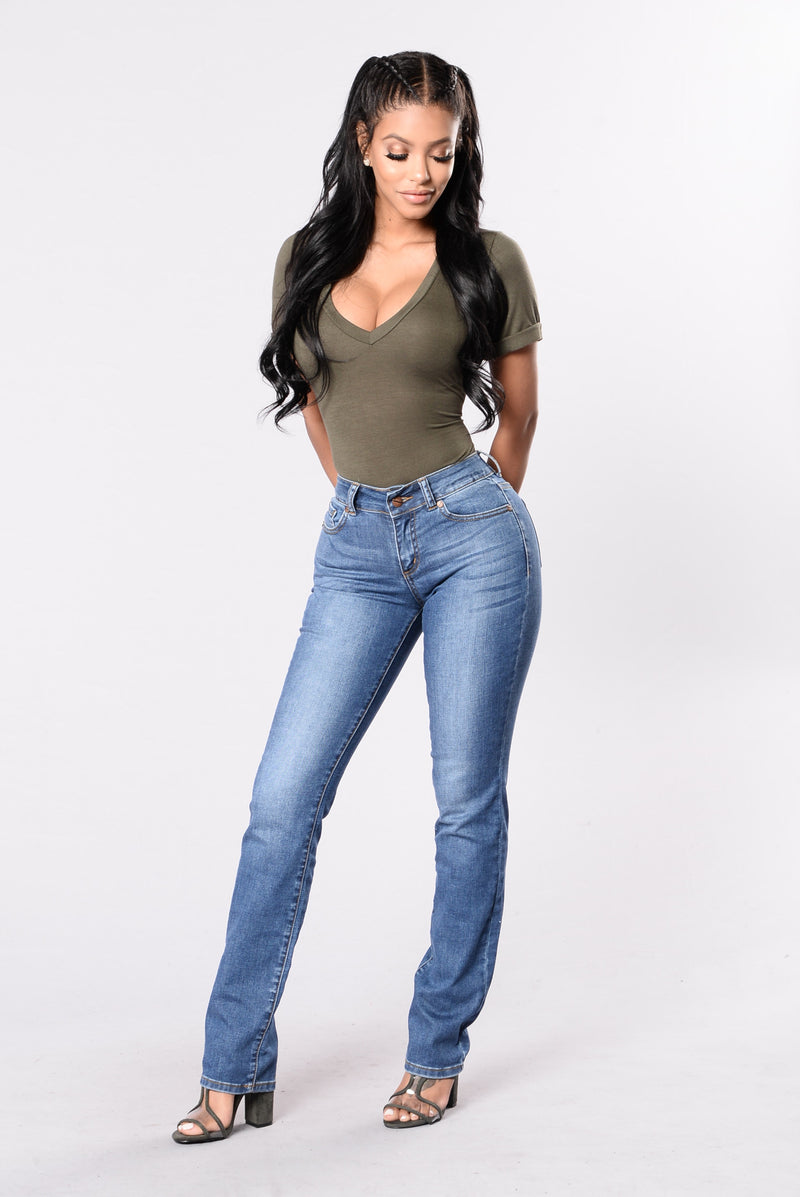 Bootyful Jeans - Medium Blue