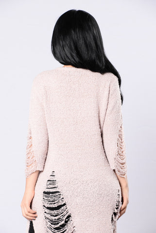 Lionheart Sweater - Blush