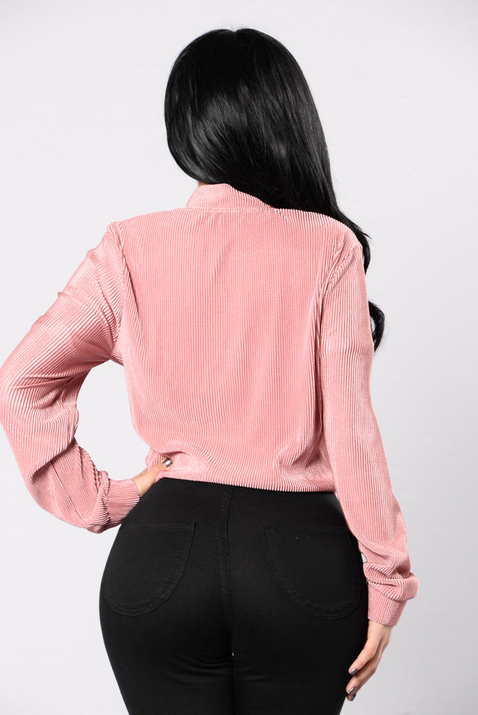 Busta Move Jacket - Dusty Rose