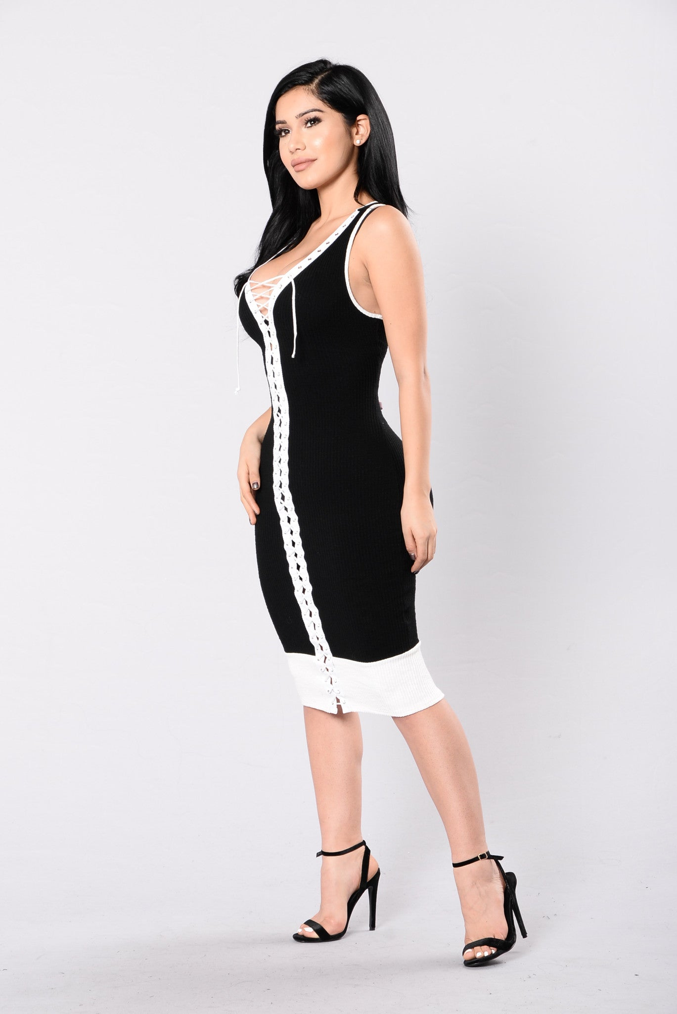 a6a4a7347f240 Fashion Nova Black And White Dresses