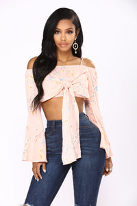 Easy Breezy Floral Top - Pink/Floral