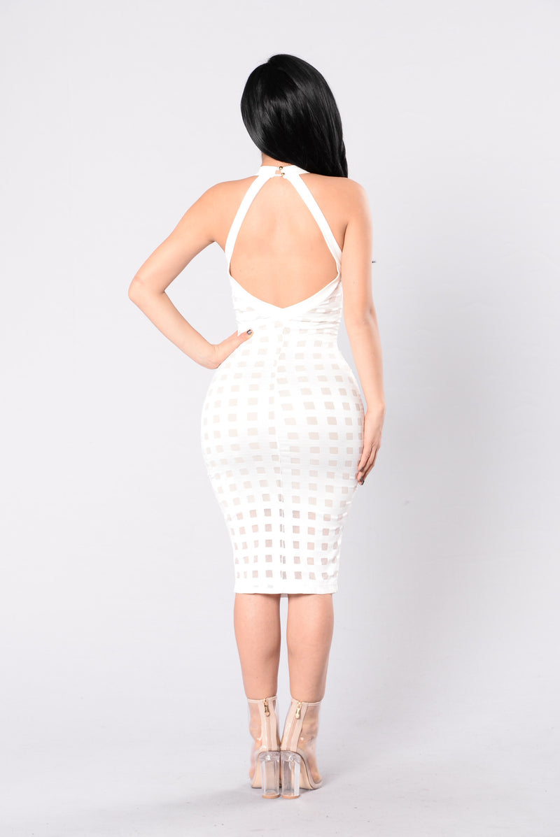 Brickhouse Dress - White