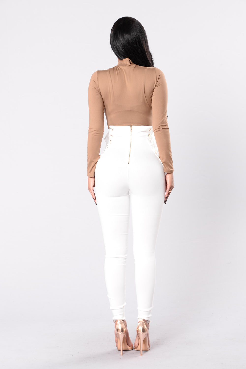 Pull Up Real Fast Pants - White
