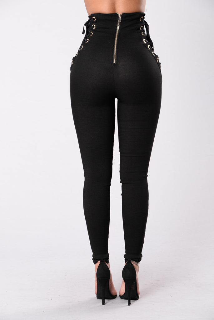 Pull Up Real Fast Pants Black