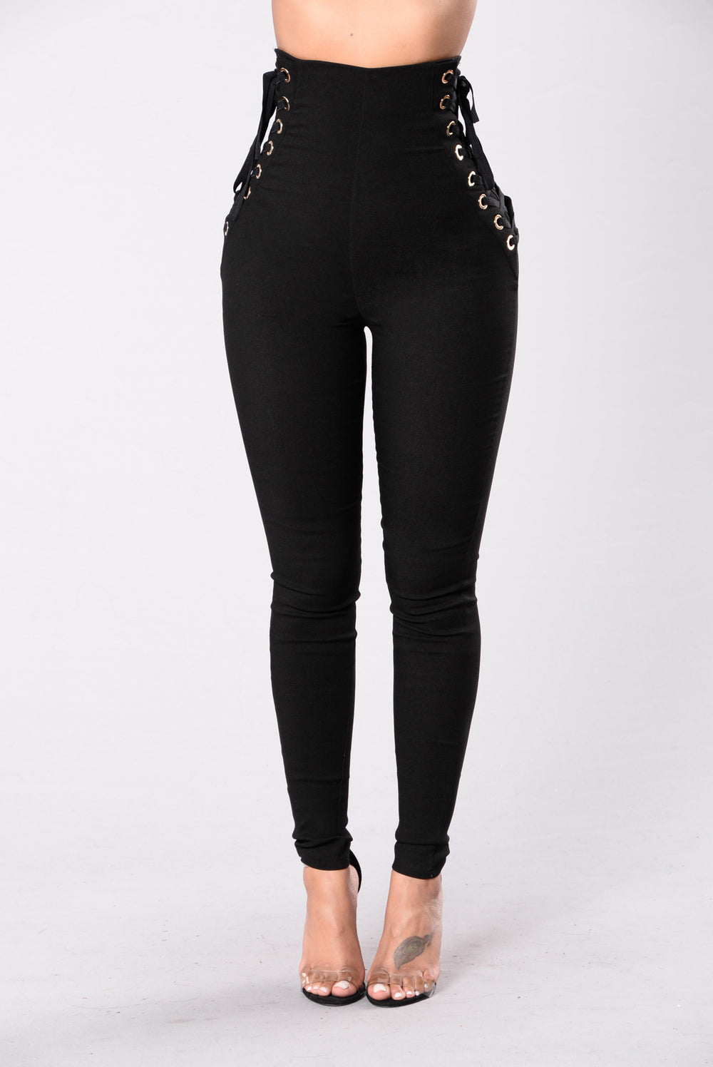 Pull Up Real Fast Pants - Black