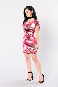 Rose Pose Dress - Rose
