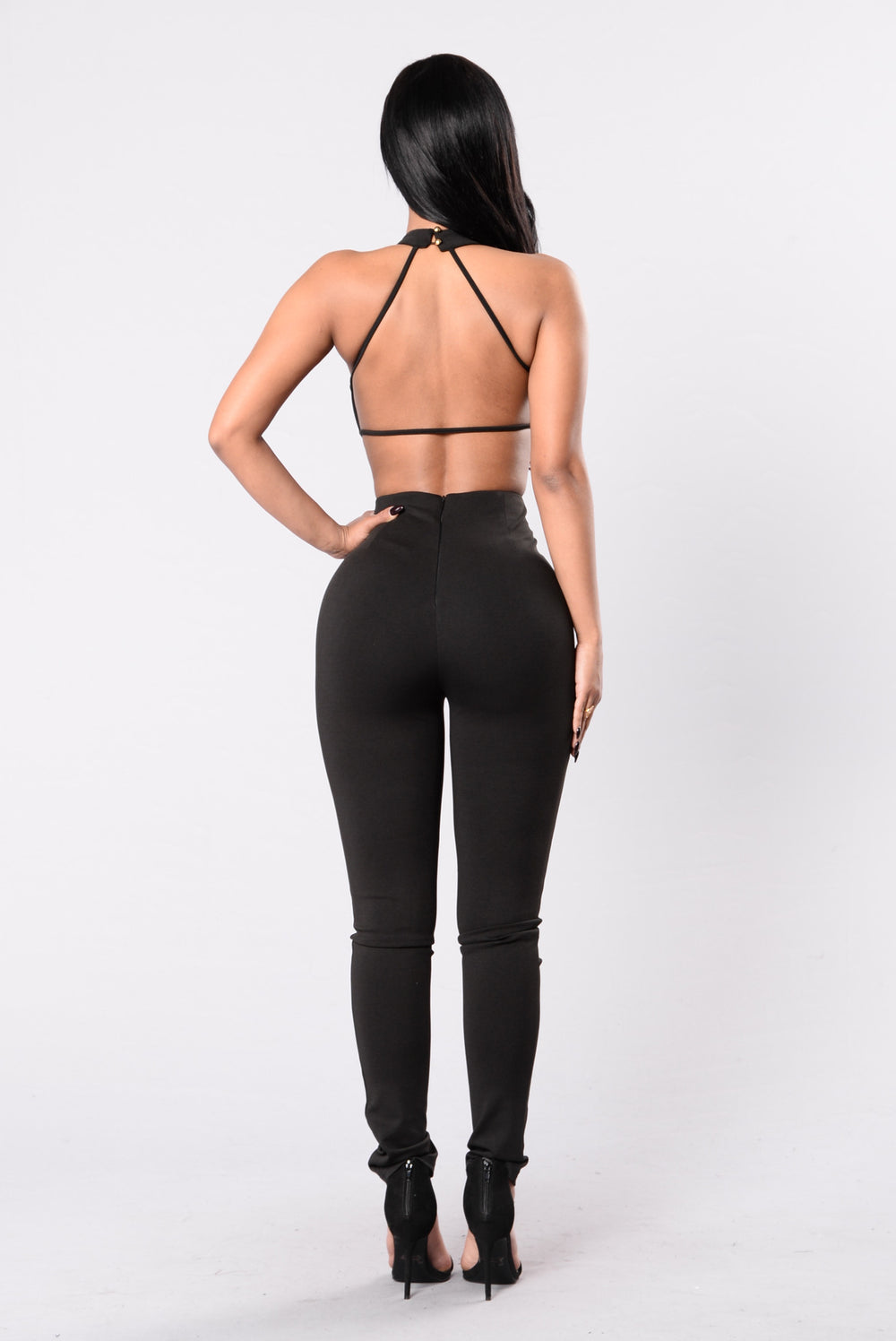 Beautiful Romance Jumpsuit - Black