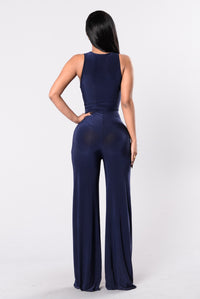 Got It Good Jumpsuit - Navy