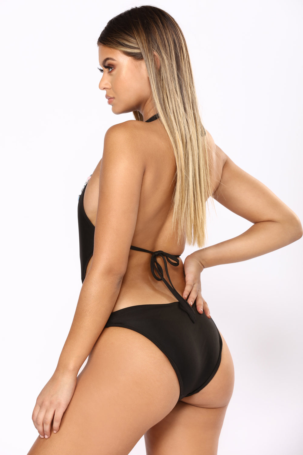 Set In Stones Swimsuit - Black