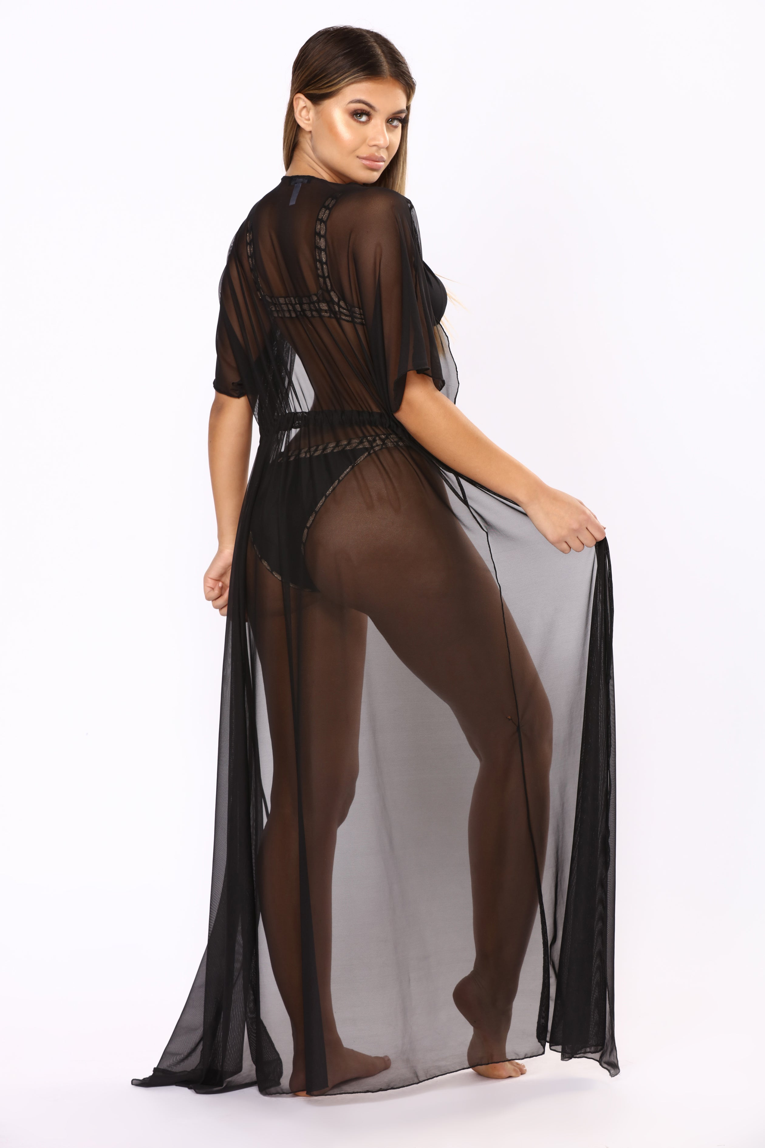 d5c777ab92 Covered Up Cover Up - Black