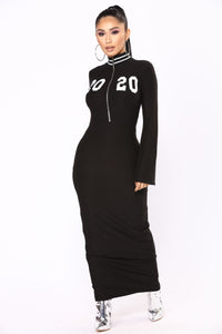 Almost 2020 Dress - Black