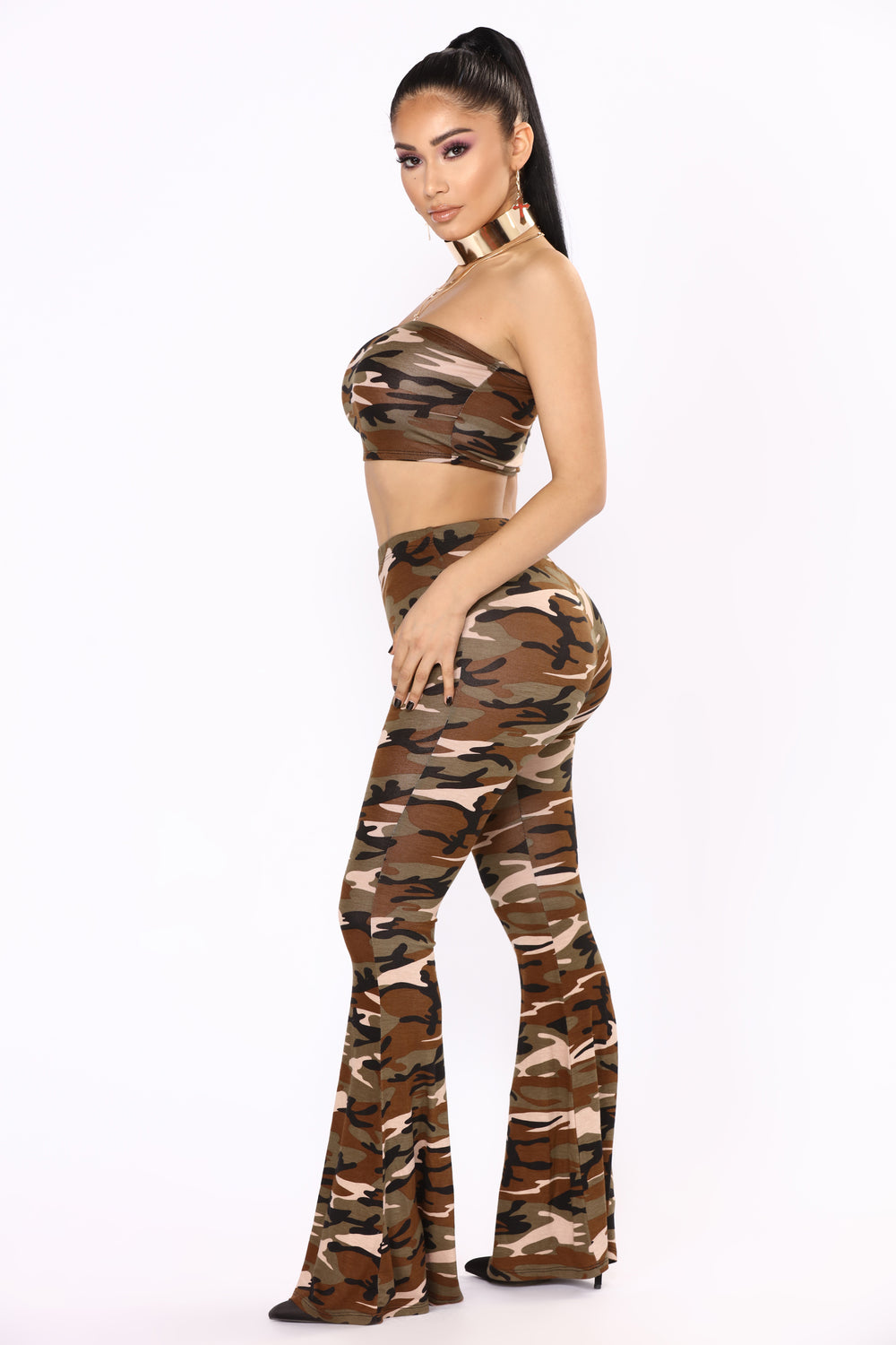 On The Down Low II Set - Camo