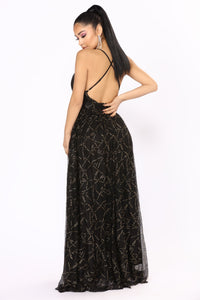 Winning Maxi Dress - Black