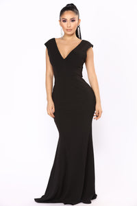 Beau's Ball Bow Dress - Black Angle 4