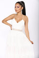 Royal Wedding Lace Dress - White