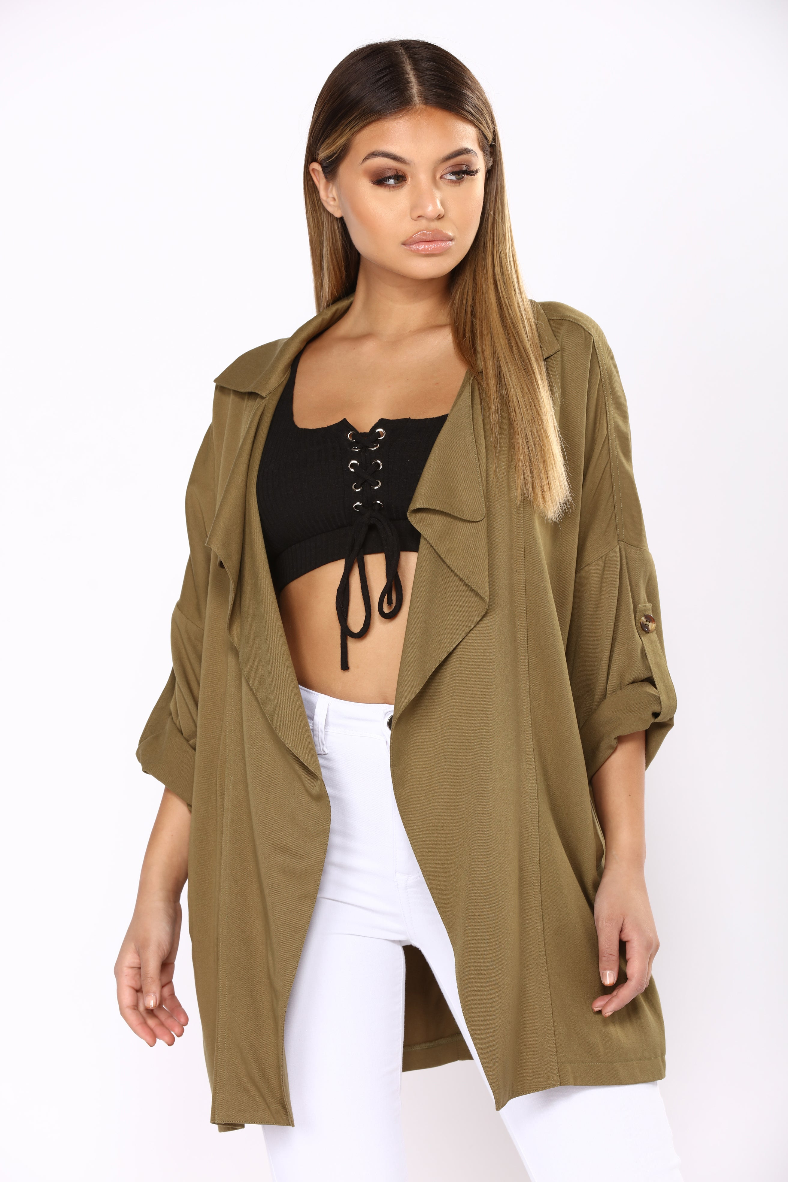 drape hooded coat lyst product vince clothing drapes gallery camel in natural